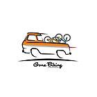 1961 Ford Econoline Pickup Truck Gone Biking by Frank Schuster