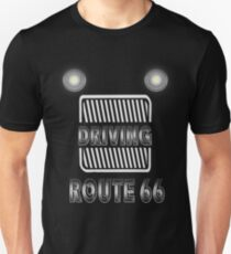 Driving logo route 66 historical highway T-Shirt