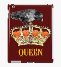crown of the queen symbol of England iPad Case/Skin
