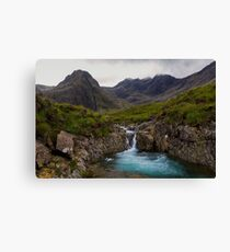 The Fairy Pools Waterfalls, Isle of Skye Canvas Print