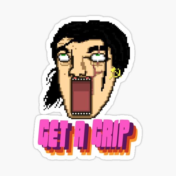Get a Grip! Sticker