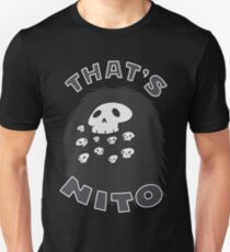 That's Nito (colored text!) Slim Fit T-Shirt