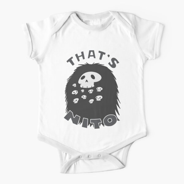 That's Nito (colored text!) Short Sleeve Baby One-Piece