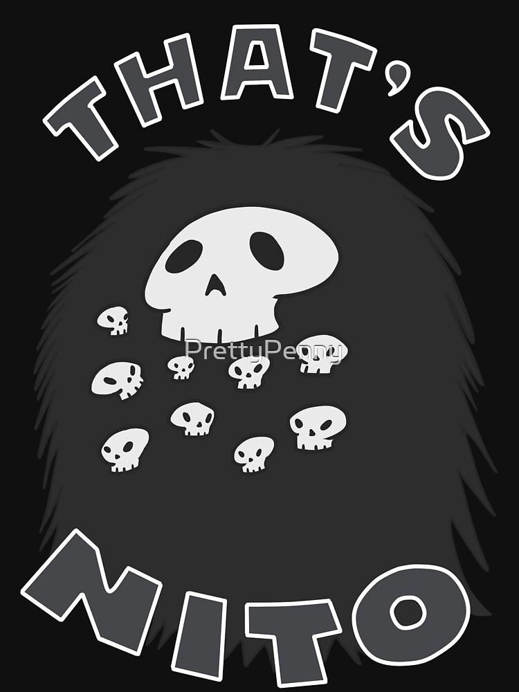 Ese es Nito (¡texto de color!) de PrettyPenny