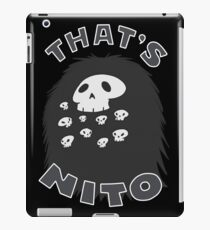 That's Nito (colored text!) iPad Case/Skin
