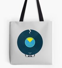 Character Building - Last Night a DJ Wrecked my Life Tote Bag