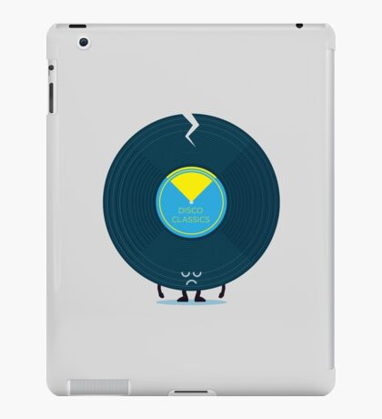 Character Building - Last Night a DJ Wrecked my Life iPad Case/Skin