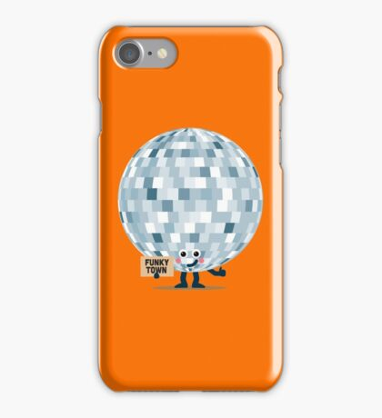 Character Building - Won't you take me to, Funky Town iPhone Case/Skin