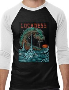 Lochness Men's Baseball ¾ T-Shirt