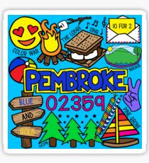 Pembroke Sticker
