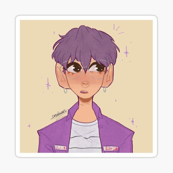 Purple Soobin! Sticker