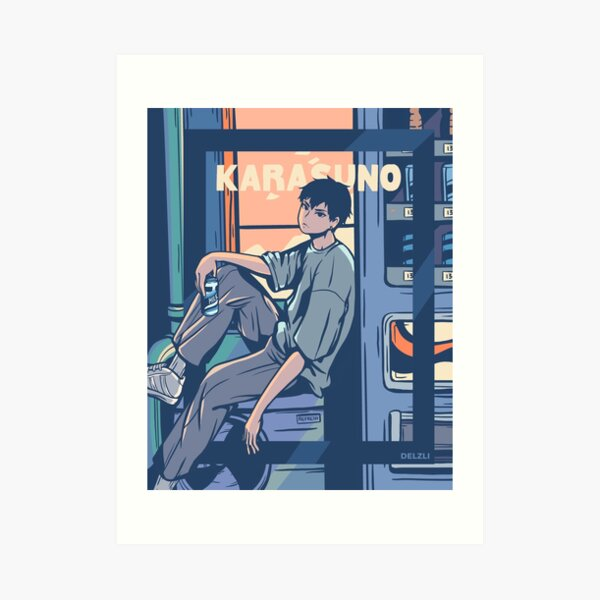 Kageyama Tobio Kunstdruck