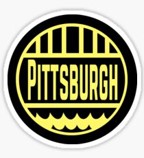 Pittsburgh Logo Sticker