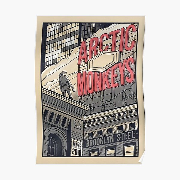 Arctic Monkeys Band Poster Poster