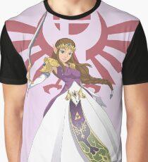 Smash Bros - Zelda Graphic T-Shirt