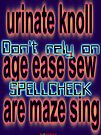Spellcheck Design by muz2142