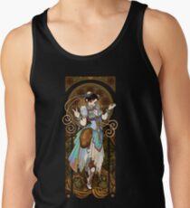 Camiseta de tirantes La mujer más fuerte del mundo (Art Nouveau China)
