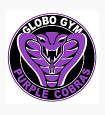purple cobras logo photographic prints redbubble rh redbubble com globo gym purple cobras logo purple cobras emblem