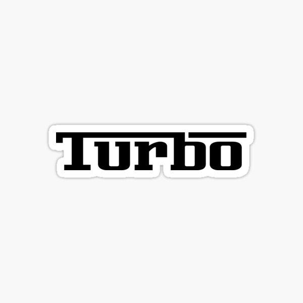 Turbo Racing Car Auto Window Bumper Decal  Sticker