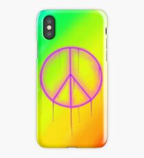 Peaceful Vandalism 1 iPhone Case/Skin
