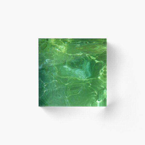 Wearin' o' the Green Acrylic Block