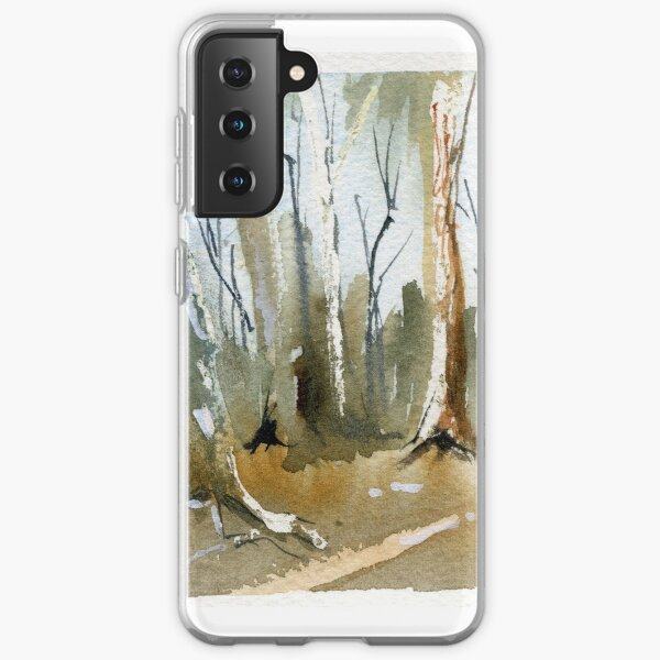 Tall trees in the Flinders Ranges Samsung Galaxy Soft Case