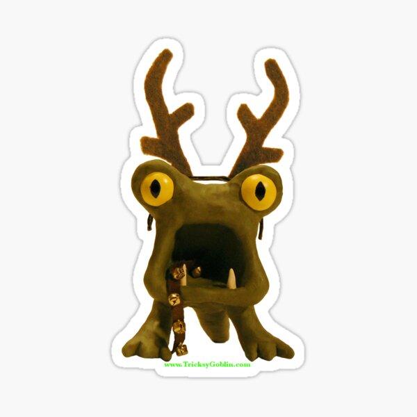 Horrible Monster for Solstice Sticker
