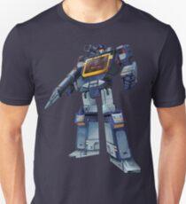 Masterpiece Soundwave (Transparent Background) Revised Unisex T-Shirt