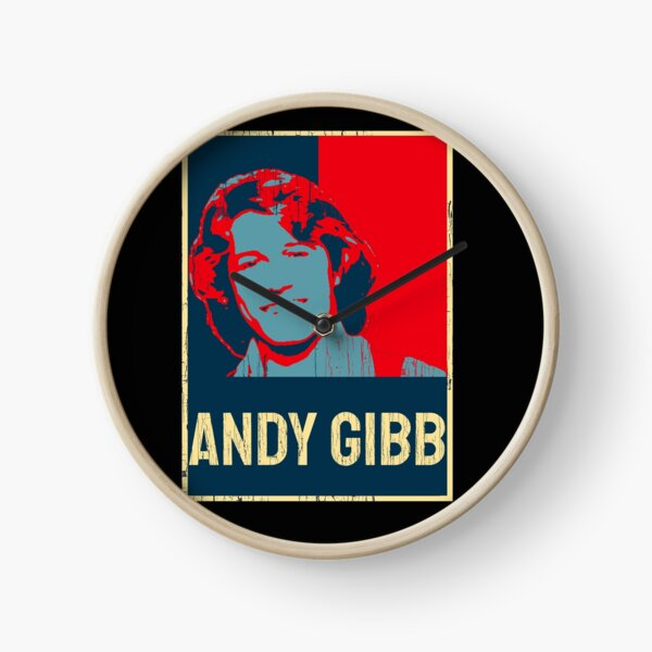 Andy gibb vintage Clock