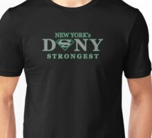 DSNY - New York's Strongest in grey  Unisex T-Shirt