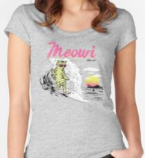 Meowi Women's Fitted Scoop T-Shirt