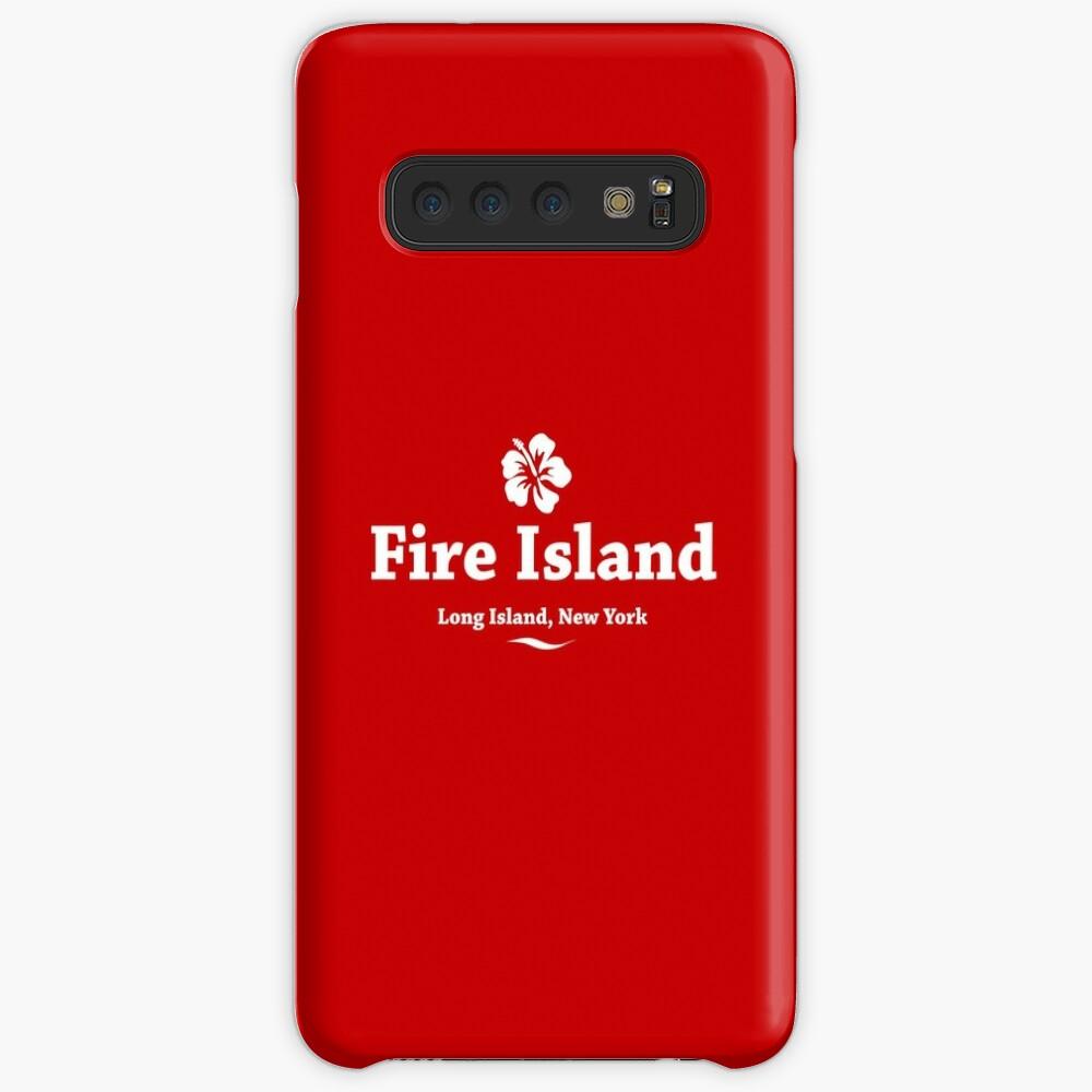 Feuerinsel, Long Island Hülle & Klebefolie für Samsung Galaxy