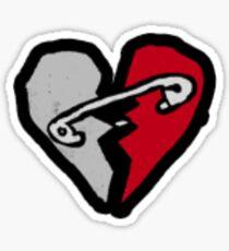 safety pin Sticker