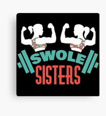 Swole Sisters Canvas Print