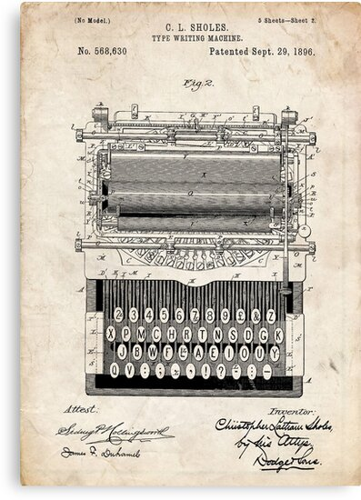 where was the typewriter invented