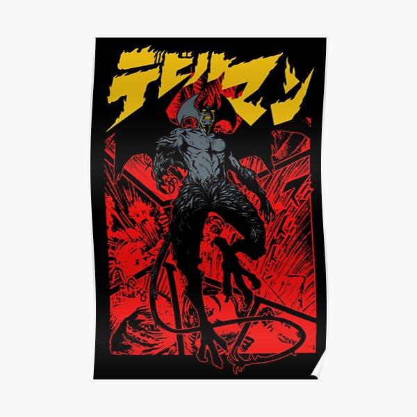 DEVILMAN ANIME Poster