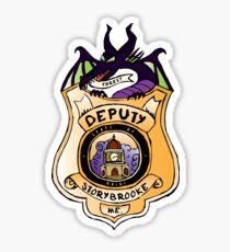 Once Upon A Deputy Sticker