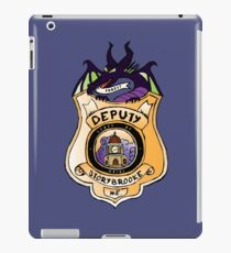 Once Upon A Deputy iPad Case/Skin