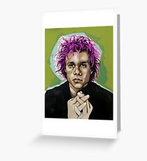 Heath Ledger  Greeting Card