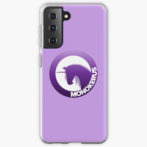 Purple Gradient MONOKERUS Logo Samsung Galaxy Soft Case