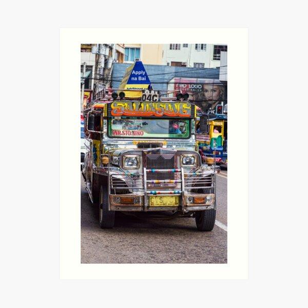 Classic Jeepney Art Print