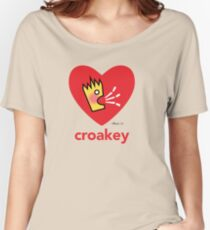 Croakey signature graphic - Croakey Love Women's Relaxed Fit T-Shirt