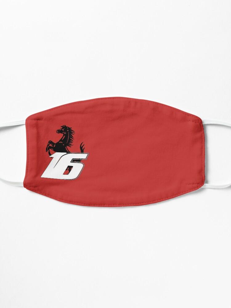 Masque ''Charles Leclerc LEC16 Formule1 2021 F1 Ferrari Car Racing': autre vue