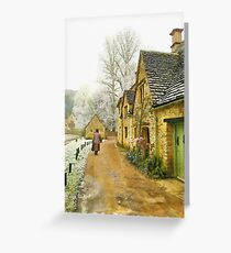 Cotswold Village - England Greeting Card