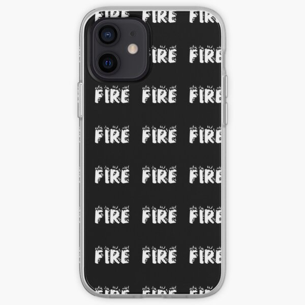 """""""Fire"""" New T-shirt Hot Meaning iPhone Soft Case"""
