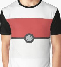 Pokemon Pokeball Minimalism Design Kanto Pikachu Graphic T-Shirt