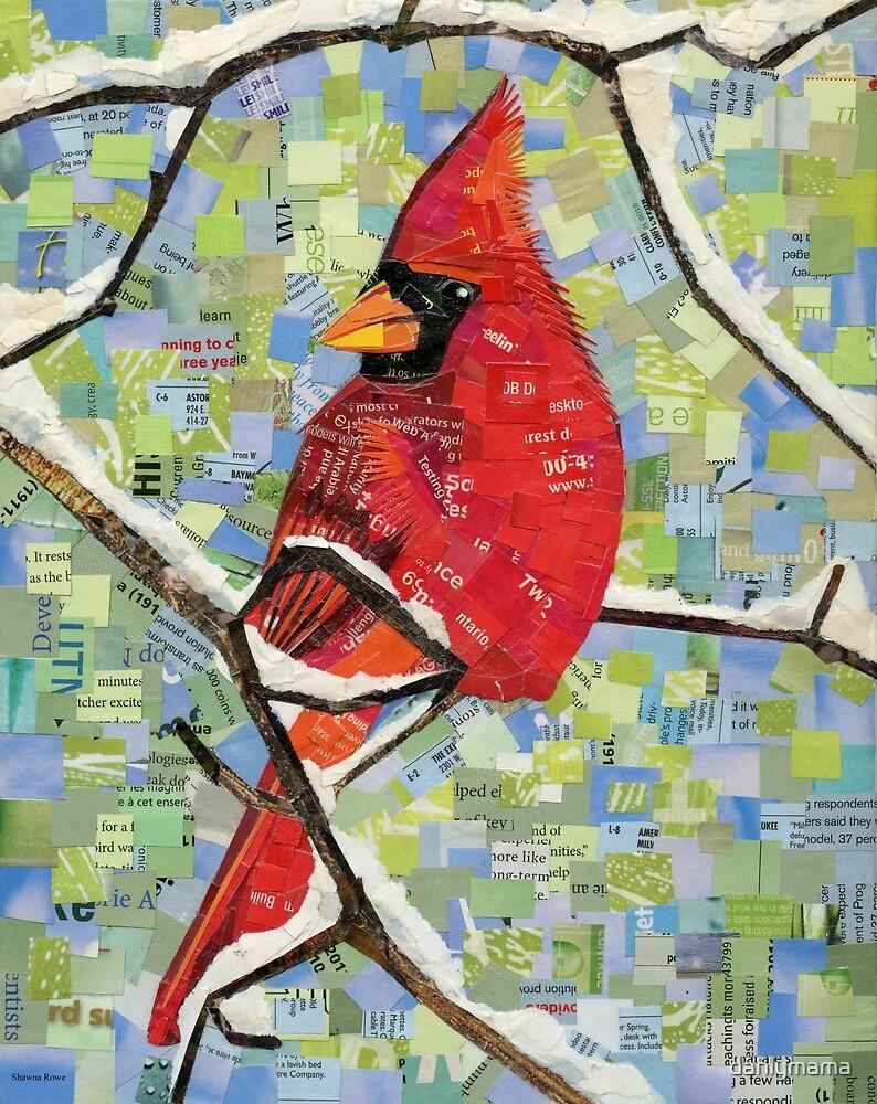 Majestic Red Cardinal by Shawna Rowe