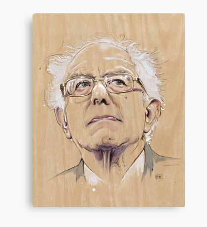 (Wood) Burnie Sanders Canvas Print