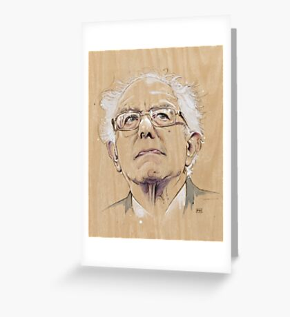 (Wood) Burnie Sanders Greeting Card