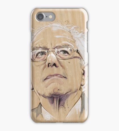 (Wood) Burnie Sanders iPhone Case/Skin